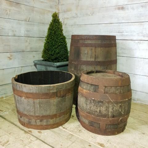 Reclaimed Wine Barrel