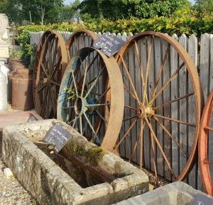 Wheels Cast Iron Implement