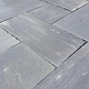 Black grey Limestone Paving 22mm
