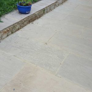 Light Cream Exterior Paving