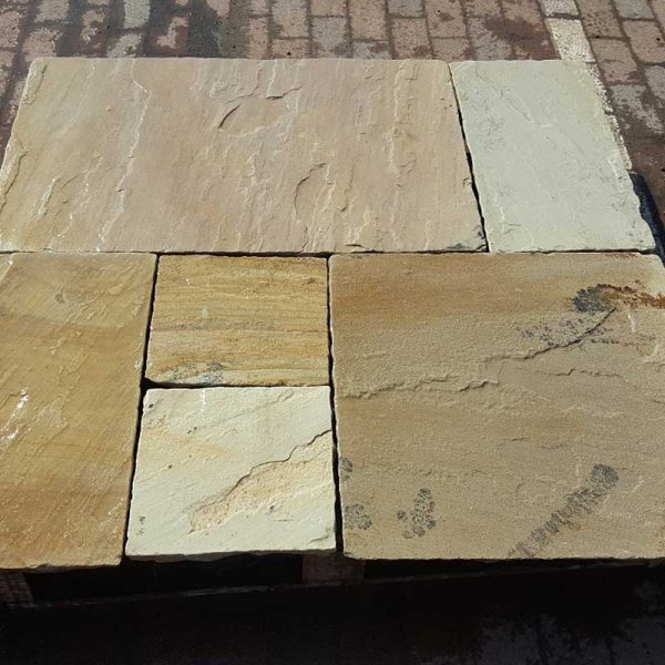 Fossil Mint Paving Patio Pack