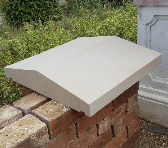 50 x 50 new sandstone coping (Small)