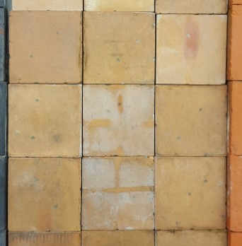 6 inch buff quarry tile reclaimed