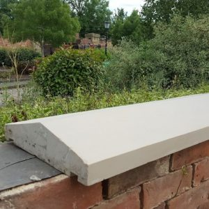 90 x 30 new sandstone wall coping (Small)