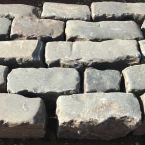 Blue Grey Kerb Edging and Cobbles2