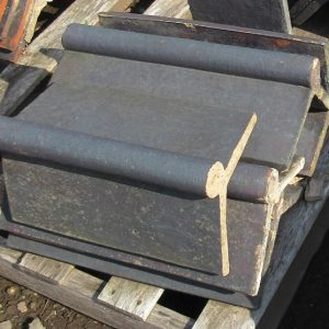 Blue Roll Top Clay Ridge Tile
