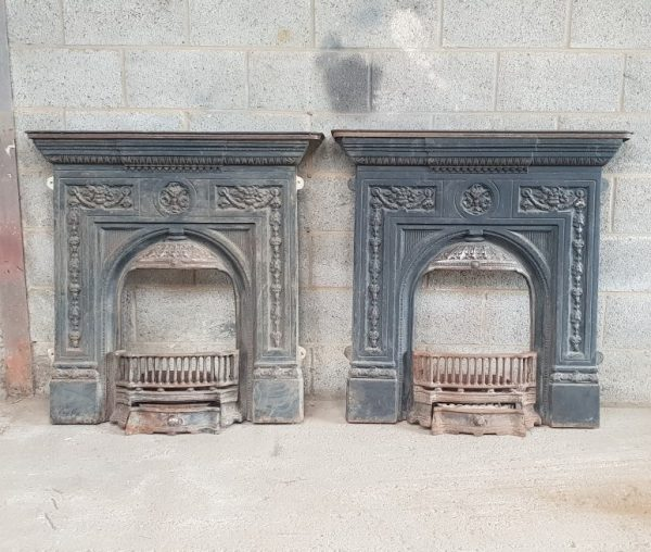 Cast Iron Victorian Fireplace Reclaimed