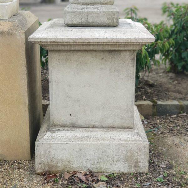Composite Stone Pedestal Front View