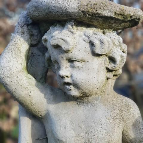 Composition Stone Statue