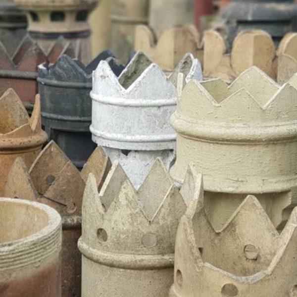 Crown Top Chimney Pots