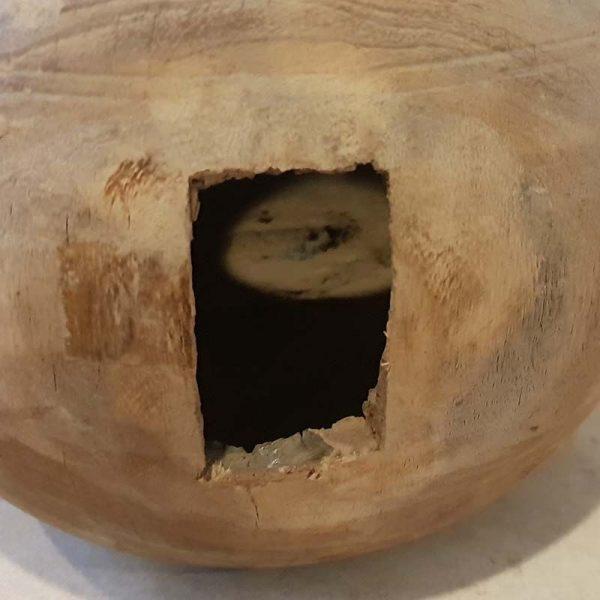Handmade Wooden Pot