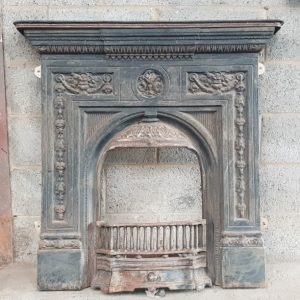 Decorative Cast Iron Fireplace