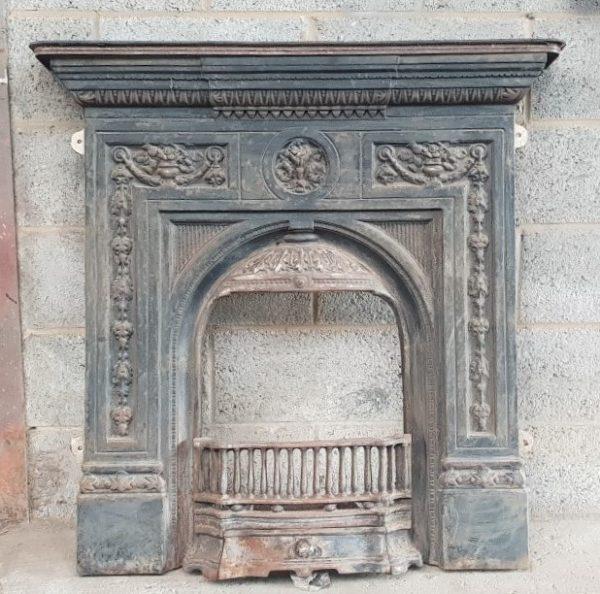 Decorative Cast Iron Fireplace