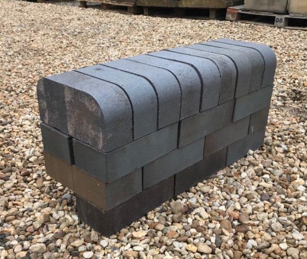 Blue Double Bullnose Brick