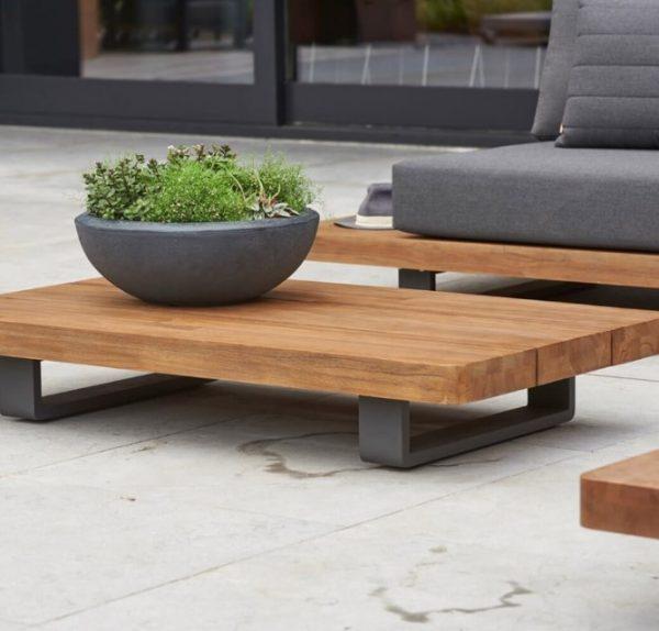 Fitzroy Teak Garden Furniture outdoor coffee table