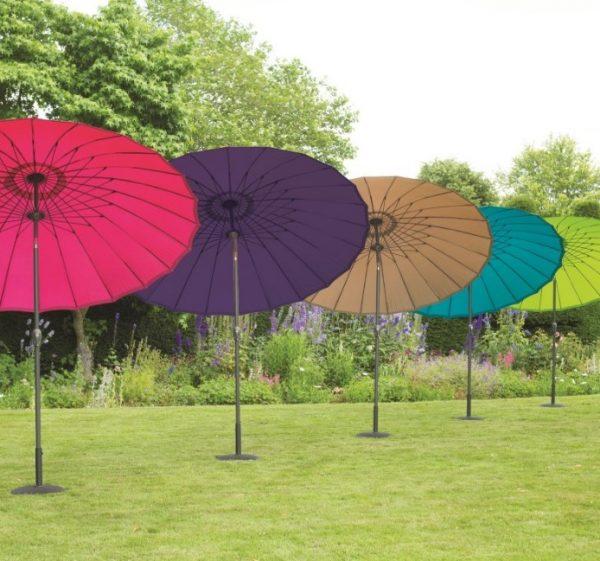 Geisha Parasol Colours