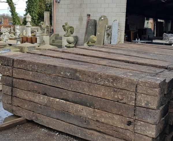 Grade A reclaimed railway sleepers