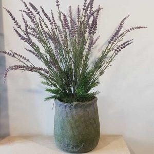 Handmade Lavender Pot