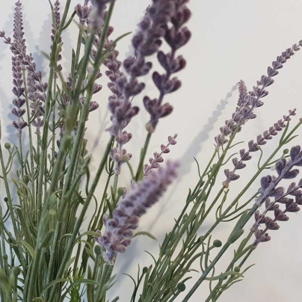Handmade Lavender Pot Close Up