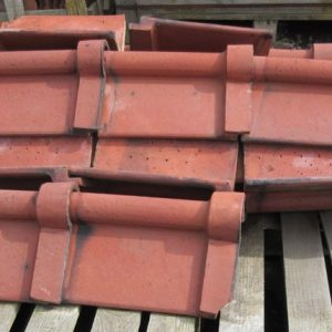 Interlocking Clay Ridge Tile