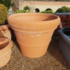 Double Rim Handmade Italian Pot