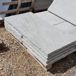 Kandla Grey Fireplace Hearth - York Flagstone Alternative