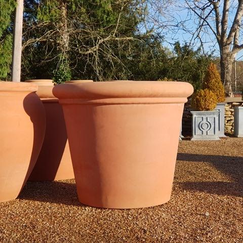 Large Handmade Italian Terracotta Pot
