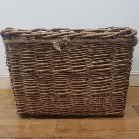 Large Log Basket with Rope Finishing (Small)