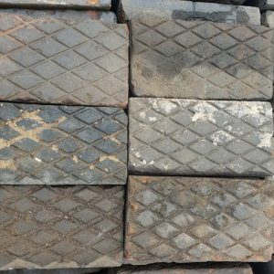 Large Reclaimed Diamond Pavers
