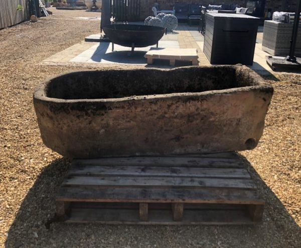 Large Reclaimed Gritstone Trough