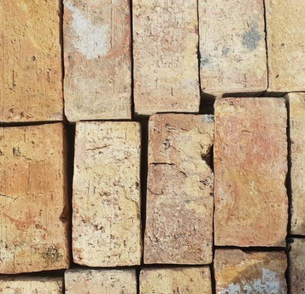 """2½"""" Handmade Clamp Red/Yellow Multistock Brick"""