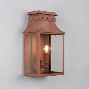 Corteen Steel Outdoor Wall Light