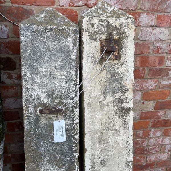 Pair of Gritstone Posts 64H x 10W x 8D