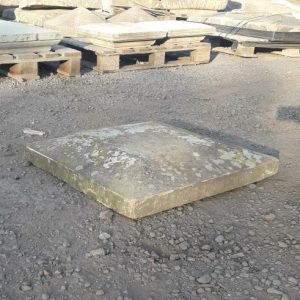 Sandstone Four Way Flat Top Pier Cap