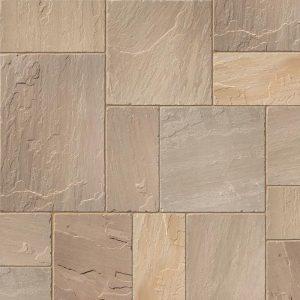 Raj Blend Sandstone Paving
