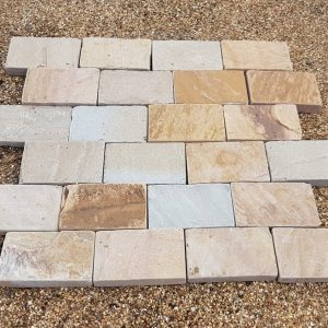 Raj Blend Tumbled Block Paving