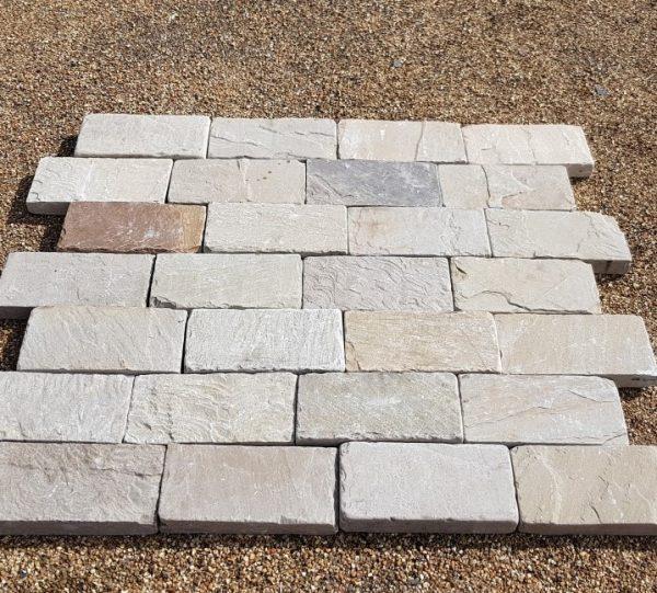 Raj Blend Tumbled Block Paving