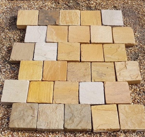 Block Paving Raj Blend Tumbled 150 x 150