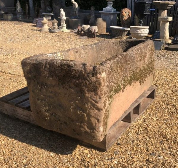 Reclaimed Gritstone Trough