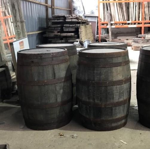 Reclaimed Oak Barrels