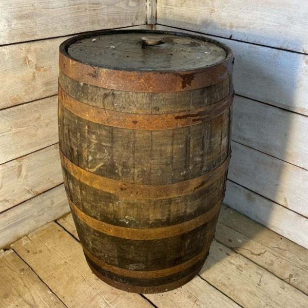 Reclaimed Oak Whisky Barrel