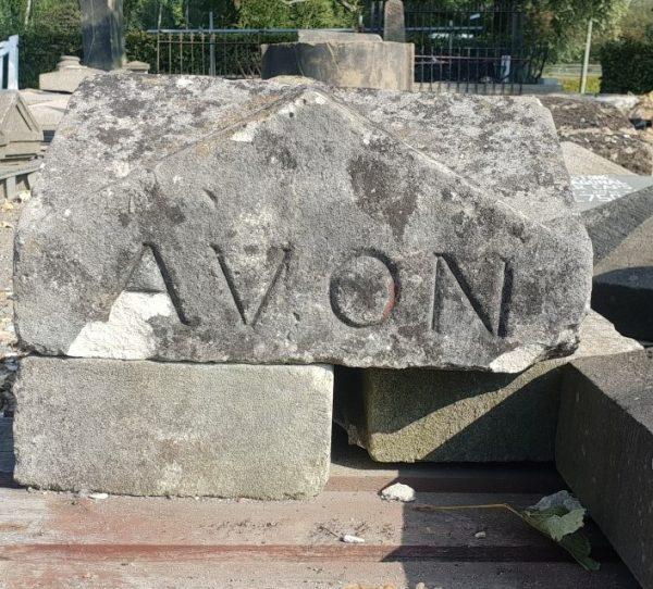 Reclaimed Pier Cap Avon Carving