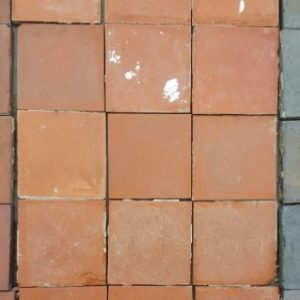 Reclaimed Quarry Tiles Red 6 inch