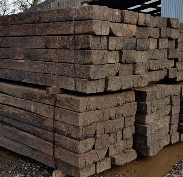 Reclaimed Railway Sleepers Grade A