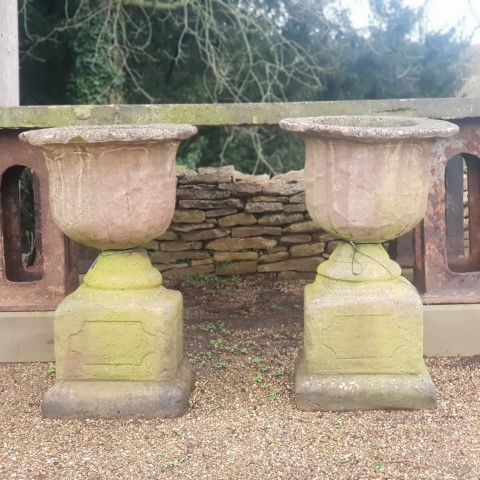 Reclaimed Reconstituted Stone Urn