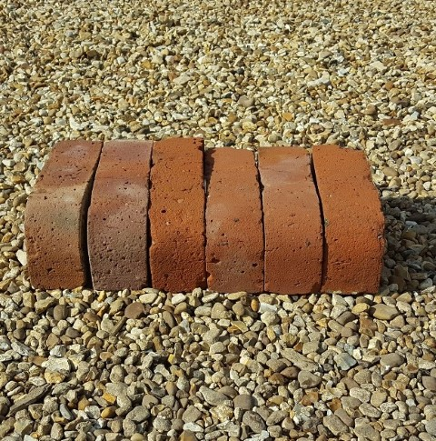Reclaimed Red Bullnose Bricks