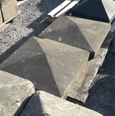 Reclaimed Sandstone Pier Caps