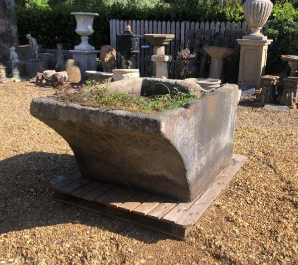 Reclaimed Stone Potato Washer Trough