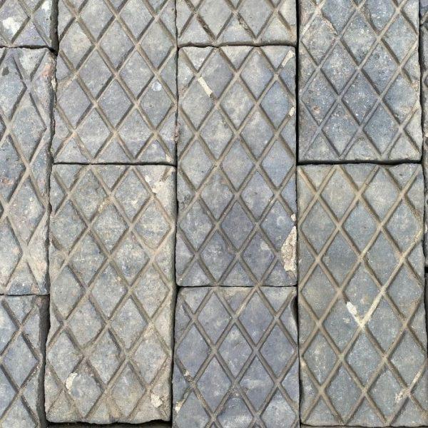 Reclaimed Victorian Blue Diamond Paver