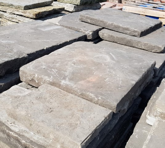 Reclaimed York Flagstones For Sale